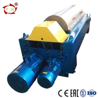 China CE / EAC Horizontal Decanter Centrifuge Separator  / Tricanter For Crude Oil on sale