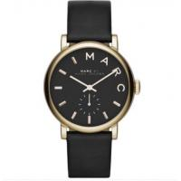 Quality Wholesale NEW MARC BY MARC JACOBS LADIES WATCH BAKER GOLD TONE BLACK LEATHER for sale