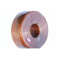China Copper Litz Wire Loudspeaker Cable , Transparent Sheath PVC Insulated Cables on sale