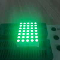China Row Cathode Column Anode 5 x 7 LED Dot Matrix Display 3mm For Mesage Boards wholesale