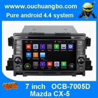 China Ouchuangbo In dash GPS Navigation iPod USB Stereo 3G Wifi for Mazda CX-5 Android 4.4 Syste wholesale