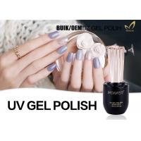 China Durable Three Step Gel Fingernail Polish , 1KG Bulk Soak Off Gel Nail Polish wholesale