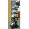Buy cheap Heavy duty unique Two side Floor Sports Storage Racks PVC foam for display shoe from wholesalers
