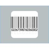 China CustomSquare Barcode Security Labels Printer for Pharmacy and Book wholesale