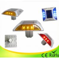 China IP68 Aluminum Shell Solar Led Road Stud With 1000M Visual Distance , Solar Cats Eyes wholesale