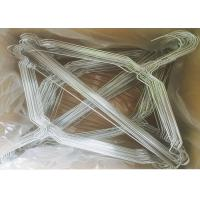 China 2.2mm Metal Wire Hanger 16 Inches / 18 Inches Steel Metal Clothes Hangers wholesale