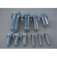 China Carbon Steel Metric Hex Head Bolts Screws 4.8 8.8 Grade DIN933 DIN93116mm-70mm wholesale