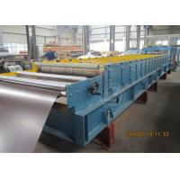 China Glazed Metal Tile Cold Roll Forming Machine with Hydraulic Punching Device wholesale