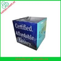 China Recycled New Cardboard POS Paper Advertising Shipping Cube Boxes wholesale