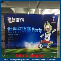 China Stretch Trade Show Tension Fabric Displays with Dye Sublimation Printing on sale