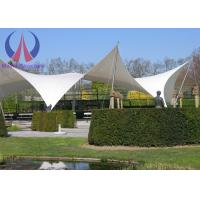 China Anti - Hurricane PVC Tensile Membrane Roofing Temporary Building Structures Environmental wholesale