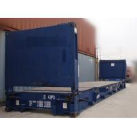 China Second Hand 20ft Flat Rack Container / Used Sea Box Containers For Sale wholesale