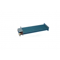 China ISO9001 1500mm Flat Type Microchannel Heat Exchanger For Heat Pump wholesale
