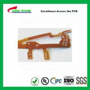 China NI-AU Plating Flex PCB , Mobile Phone Circuit Board wholesale