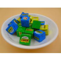 China Large Sugar Cubes / Cube Shaped Candy Crispy Feeling Green Snack Foods wholesale