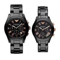China Wholesale BRAND NEW GENUINE MENS  AR1410 AR1411 AR1400 AR1401CERAMIC BLACK & GOLD WATCH WITH BOX wholesale