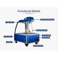 China Light Weight 20W 30W Portable Metal Laser Engraver wholesale