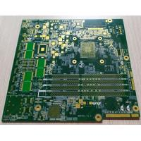 Buy cheap 10 layers FR-4 Green soldmask 1.6mm 2OZ copper thickness multilayer PCB board from wholesalers