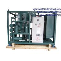 China High Vacuum Oil Dehydration Plant, Oil Degassing, Oil Dehyrating System for Transformer Oil wholesale