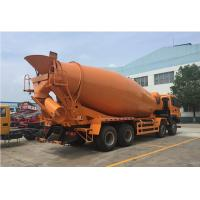 Buy cheap Easy To Control Concrete Mixer Truck 6m Concrete Agitator Truck 1 Year Warranty from wholesalers