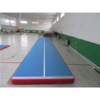 China No Noise Gymnastics Training Mats , Contemporary Air Bounce Mat For Kids wholesale