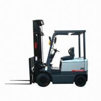 China Electric forklift with maximum lifting capacity of 2T, AC electric motor wholesale