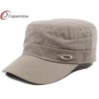 China 100% Cotton Military Baseball Hats wholesale