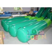 Quality 0.90mm Plato PVC Inflatable Water Toys Safe Water Buoys Customized Size for sale