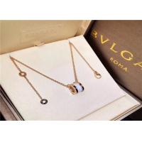 China 18K Gold  B Zero1 Diamond Necklace For Young Girls / Boys wholesale