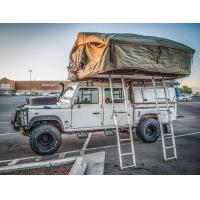 China Green And Beige Off Road Roof Top Tent 310*190*130CM Unfolding Size wholesale