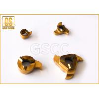 China High Precision Tungsten Carbide Inserts , Carbide Threading Inserts YT14 on sale