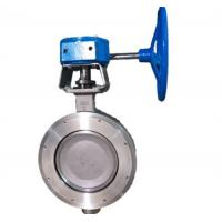 Quality High Performance Wafer Double Flanged Butterfly Valve for sale