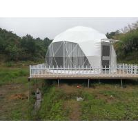China 6m Outdoor Small Geodesic Dome Shelter For Resorts Flame Retardant DIN4102 B1 M2 B1 wholesale