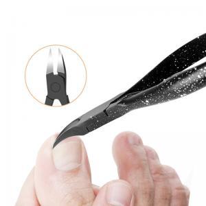 China Toenail Ingrown Nail Care Tools Edge Cutter Nipper Length 11.4cm Rotatable Shrapnel Design wholesale