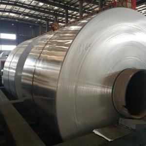 China Jumbo Roll Industrial Aluminum Foil for Evaporator Heater Radiator Condenser wholesale