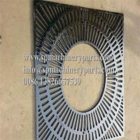 China China Foundry manufactures beautiful New Design cast iron Square Tree Grates With Custom Logos wholesale