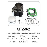 China Honda Motorcycle Cylinder Kit  , Water Cooled Cylinder Block Kit CH250 wholesale