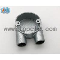 China BS4568 Gi Conduits And Accessories Two Way U Junction Box Casting Technics wholesale