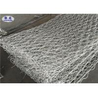 China Double Twist Gabion Wall Cages For River Bed Protection Hexagonal Weave wholesale