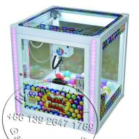 2016 New Children Amusement Equipment Arcade Indoor Coin Operated Games Gift Toy Mini Cranes Claw Machine For Kids
