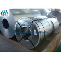 China Anti Finger ASTM Hot Dip Galvanized Steel Coil SGS ISO CIQ Certificate wholesale