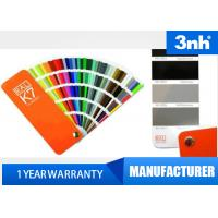China Professional 210 Colors Ral Color Cards , Paint Shade Card 5 * 15cm Chart Size wholesale