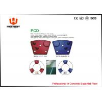 China Fast Speed Marble Grinding Pads , Concrete Grinding Tools Soft / Medium / Hard Bond wholesale