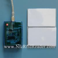 China HF 13.56 Mhz  ISO 15693 Contactless Smart Card Reader USB CR608FU on sale