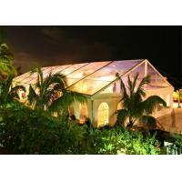 China Rainproof Standard Size Clear Party Event Tents For Outdoor Commercial Activities wholesale