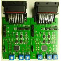 Buy cheap Customized Project PCB Board Assembly Green Solder Mask White Silkscreen HASL Surface Finishing 1.6MM Thickness from wholesalers