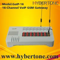 Buy cheap 16 Ports GoIP GSM Gateway GoIP-16 Quad band IMEI chang SMS for VoIP terminal from wholesalers