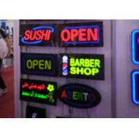 Buy cheap 23X43cm Flashing  LED Open Sign With Four Display Modes  Window Signage from wholesalers