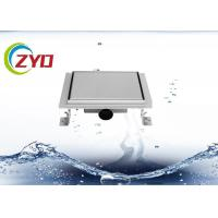 Buy cheap 3.5 Inch Stainless Steel Floor Drain Large Flow Flange Edge Smooth Surface from wholesalers