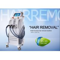China Professional IPL RF Beauty Equipment For Hair Removal , Permanent Hair Removal Machine wholesale